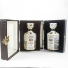 Tomatin 12 Year Old Mini Gordon Highlander Decanter x 2