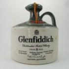 Glenfiddich 8 Year Old Ceramic Flagon 26 2/3 Fl Ozs