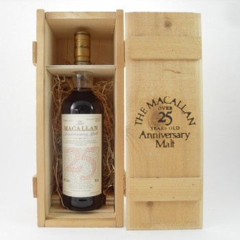Macallan 25 Year Old Anniversary Malt 1968