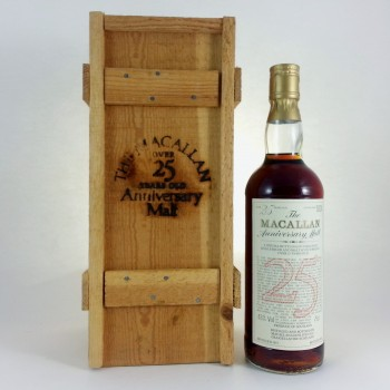 Macallan 25 year old Anniversary Malt 1957 First Edition