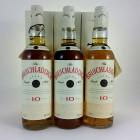 Bruichladdich 10 Year Old Tall Bottle x 3