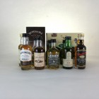 Assorted Minis x 16  Including Lagavulin & Littlemill 5cl