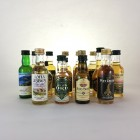 Assorted Minis x 16  Including Benriach & Ledaig 5cl