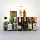 Assorted Minis x 15  Including Arran & Islay Mist 5cl