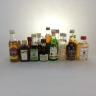 Minis Assortment x 30 including Drambuie,Pernod