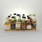 Assorted Minis 16 x 5cl  Including Glendronach & Jura