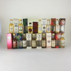 Assorted Minis 12 x 5cl  Including Cardhu,Ben Nevis