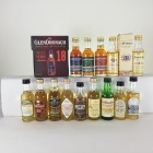 Mini Assortment 14 x 5cl  Including Glendronach & Millburn