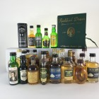Mini Assorted  Blends including Cutty Sark 30 x 5cl