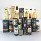 Assorted Single Malt Minis Including Macallan & Oban 5cl x 13