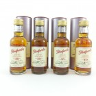 Glenfarclas 40 Year Old Miniature x 4