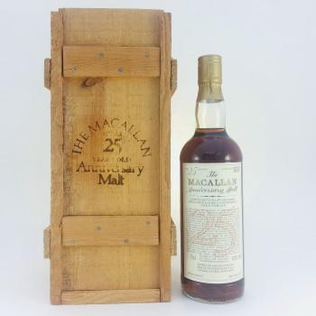 Macallan over 25 year old Anniversary Malt 1957