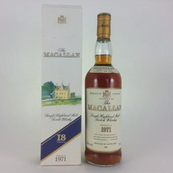 Macallan 18 Year Old 1971