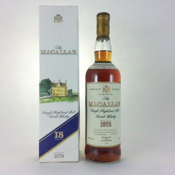 Macallan 18 years 1978