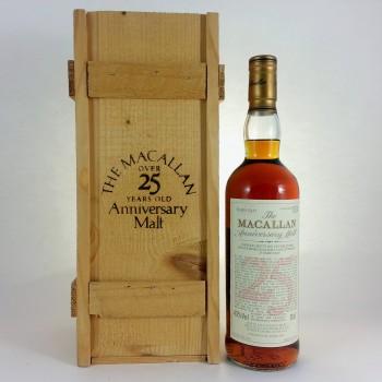 Macallan over 25 year old Anniversary Malt 1968