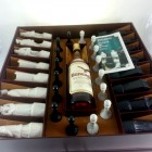 Beneagles Chess Set & Golden Beneagles Scotch Whisky 75cl