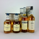 Dalwhinnie15 Year Old x 2, Oban, & Cragganmore 4 X 20cl
