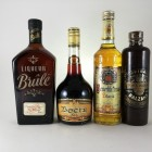 Assorted Liqueurs including Brule - 4 off