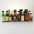 Assorted Minis 15 X 5cl Including Highland Park & Imperial