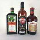 Drambuie,Havana Rum & Jagermeister - 3 off